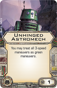 Unhinged Astromech